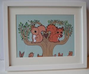 Squirrels Find Love