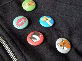 Five badges by Himalayan Princess